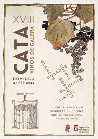 cata vinos de Galera