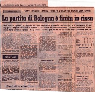 """Nella foto allargabile la pagina della """"Gazzetta dello Sport"""" citata nell'articolo"""