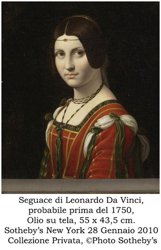 T.Follesa_Il fascino del doppio: la Belle Ferronière_Leonardo Da Vinci_Louvre_Coniugi Hahn_Private Collection