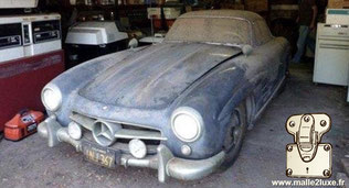 Mercedes-Benz 300 SL in its own juice