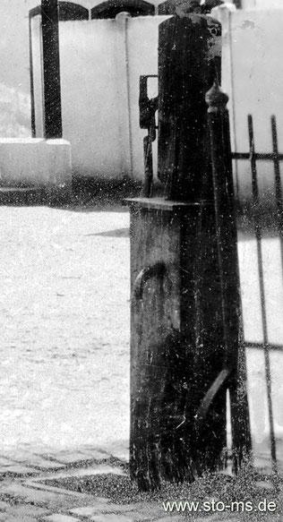 Öffentliche Pumpe in Gelmer
