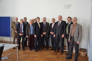 Die Teilnehmer der ersten Beiratssitzung zum KIP-S (Foto: Regierung der Oberpfalz/Kammermeier)