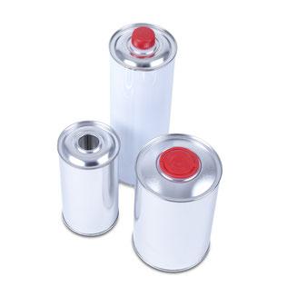 Metallflaschen Metallverpackungen HUBER Packaging