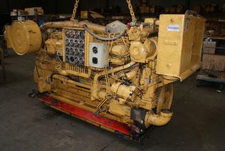 Moteur marin CAT 3512DI-TA - Les occasions Lamy Power - Belgique