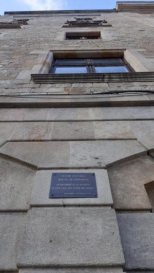 Мигель Сервантес в Барселоне