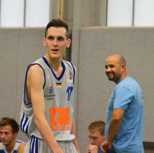 Konnte trotz starken 24 Punkten die Niederlage auch nicht verhindern, Sergej König. (Foto: Moradi)