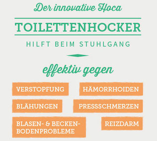 Toilettenhocker AA machen wie ein Einhorn Hockgang in die Hocke gehen  HOCA Toilette natürlich Winkel Beine anwinkeln have a happy cuptime gut und wohl fühlen  Monatshygiene Menstruationstasse heraus pressen aus Versehen flutschen