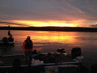 Hudson River - Kingston at Dawn
