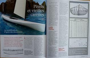POIRIER, Pixels et vieilles carènes, Chasse Marée 228, 2010 (la Bibli du Canoe)