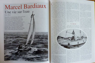 MEVEL, Marcel Bardiaux, une vie sur l'eau, in Chasse-Marée n° 94, 1995 (la Bibli du Canoe)