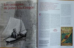 POIRIER, Les croisières de John MacGregor, in Chasse-Marée 228, 2010 (la Bibli du Canoe)