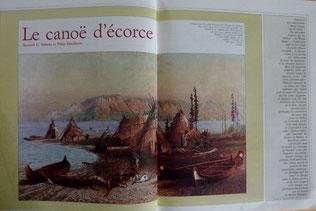 ROBERTS & SCHACKELTON, Le canoë d'écorce, Chasse Marée 37, 1988 (la Bibli du Canoe)