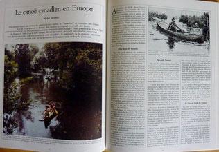 SALVADORI, Le canoë  canadien en Europe, Chasse Marée 47, 1990 (la Bibli du Canoe)