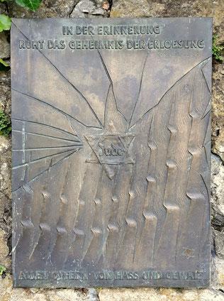 Gedenktafel auf dem Jüdischen Friedhof in Attendorn