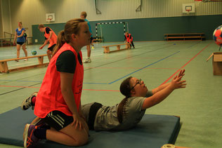 Bild: Freiwurf Hamburg Trainingslager HSV-Handball