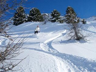 session journée, tout la journée du snowboard à val d'Isere