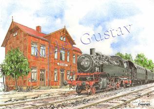 Das Bahnhofsgebäude steht immer noch, doch der Zug ist längst abgefahren.