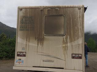Resultaat van een Gravelweg en Regen bah bah