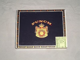Punch cigar box