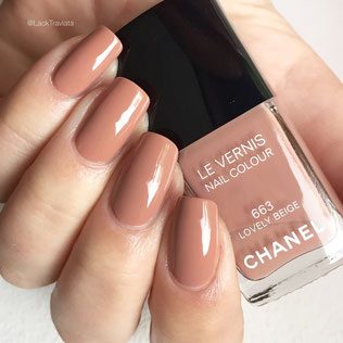 SWATCH CHANEL LOVELY BEIGE 663 by LackTraviata