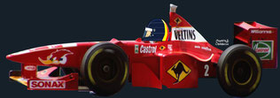 Heinz-Harald Frentzen by Muneta & Cerracín - Winfield Williams con su Williams FW20 - Mecachrome