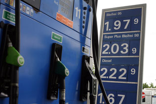 Anlagen in Benzin? Der «Clariden Leu Energy Fund» ist zu über 80 Prozent in Erdöl und Erdgas investiert