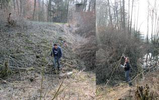 Teichpflege Bläsiberg Foto: K-H Kuhn