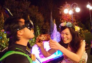 結婚式にマンガ肉