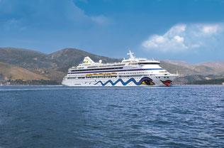 AIDAaura von AIDA Cruises // © AIDA Cruises