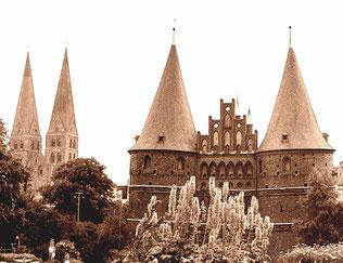 das Lübecker Hostentor - ein Bollwerk der Hanse