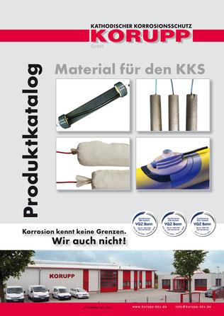 Produktkatalog Material für den KKS