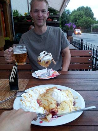 Bier und Eis gehen immer! ;)