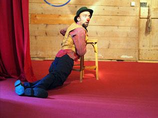 Thibault Vannier, clown