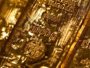 Der Goldpreis lag so niedrig wie seit Ende Juli 2010 nicht mehr. Foto: Sven Hoppe