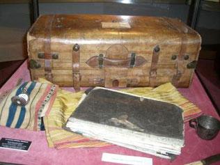 La valigia di Rimbaud (museo di Charleville)