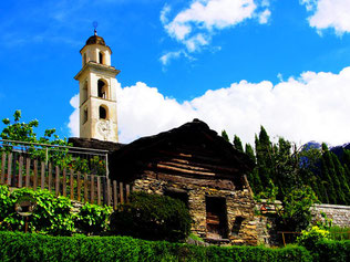 Bregaglia eine noch sehr authentische Gemeinde im Bergell