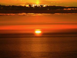 Sonnenuntergang am Nordkap