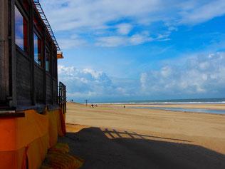 endlos weit der Strand in Soulac