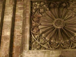 eine reichverziertre gotische Kreuzblume