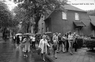 Protestbewegung 1974  -  Bildrechte A. Kampert & ISG