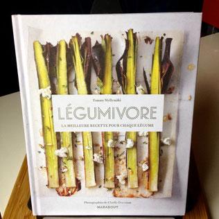 Légumivore, Tommy Myllymäki, Editions Marabout, recettes, cuisine, légumes
