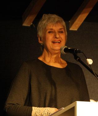 Elisabeth Kuhs bei ihrem Vortrag