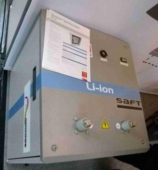 LI ion Firma Saft Batterie
