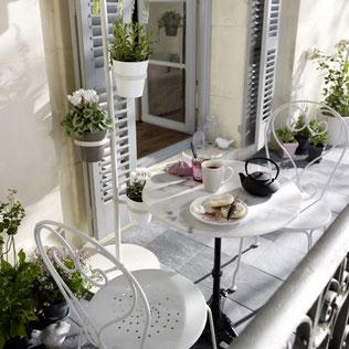 Franceses ispirazioni Balcone : Trasformare un piccolo balcone in un argomento di vendita - Benvenuti ...
