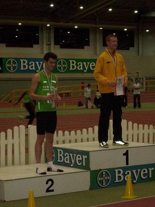 Platz 2 für Raffael Schmidt bei den U18 Nordrhein-Meisterschaften