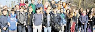 Irische Gäste beim Gruppenfoto (haz)