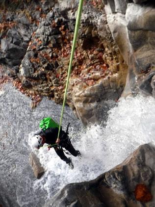canyoning hautes alpes , alpes de haute provence, vallée de l'ubaye