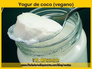 Yogur de coco (vegano) Herbolario Alquimista Arrecife Lanzarote