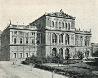 Wien, Musikverein um 1898, Public Domain
