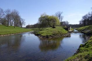 Zwei der zahlreichen Leipziger Flüsse: Hier fließt die Kleine Luppe in die Nahle. Foto: NABU Sachsen